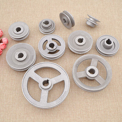 45mm-120mm Aluminium Alloy Industrial Sewing Machine Pulley Motor Clutch Slow