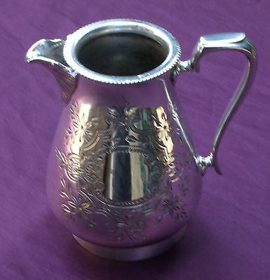 Art Nouveau Silver Plated Milk/Cream Jug