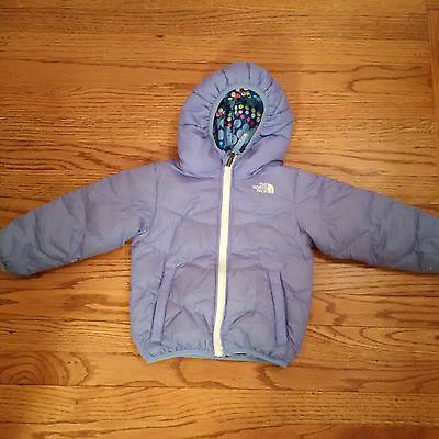 The North Face Toddler Girls Reversible Coat Jacket Size 3T