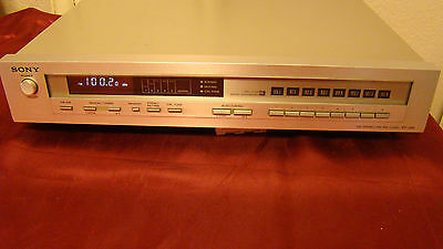 Sony ST-J55 Stereo AM/FM Tuner Receiver Made in Japan