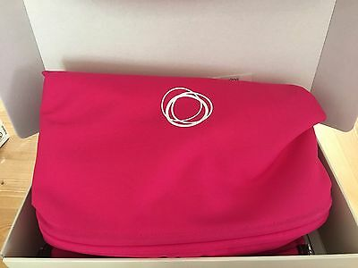 Bugaboo Buffalo Tailored Fabric Set PINK New Sun Canopy and Apron – NEW IN BOX