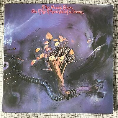 Moody Blues ~ Threshold Of A Dream ~ Deram ~ Used Lp Record Vinyl ~ Classic Rock