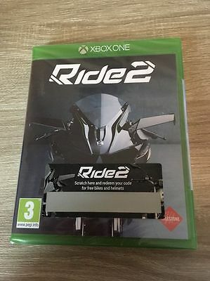 Brand New And Sealed  Condition  ( Ride 2 ) Brilliant  Xbox One Game