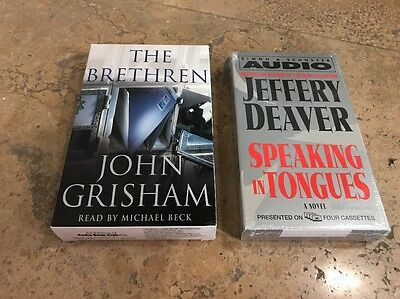 Lot Of 2 Audio Books On Cassette, The Brethren And Speaking In Tongues