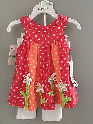 Baby & Toddler Girl Outfit Set 18 Months New Kid's Headquarters