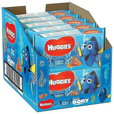 Huggies Baby Wipes, Special Edition Finding Dory-10 Soft Packs (560 Wipes Total)