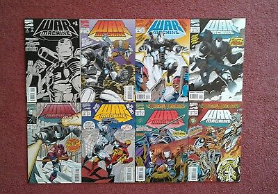 War Machine (1994) 1 2 3 4 7 8 9 10 Lot Iron Man Avengers