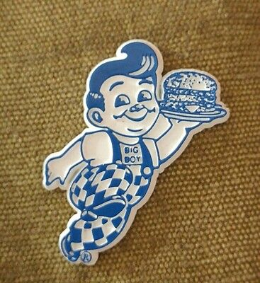 Vintage Bob's Big Boy fridge rubber magnet