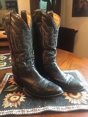 Vintage Cowboy Boot's/MORGAN MILLER/Made in Mexico/Sz.9D/100%Leather/1970's?
