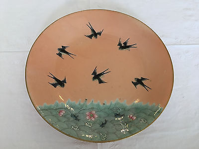 Chinese Porcelain HEINFUNG 1851 bird & fish plate.