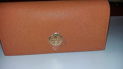 Orange Tory Burch Sunglass Case