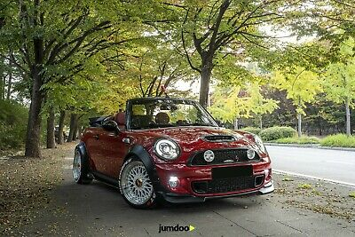 "Mini Cooper Fender Flares CONCAVE wide body wheel arches 2.75"" 4pcs"
