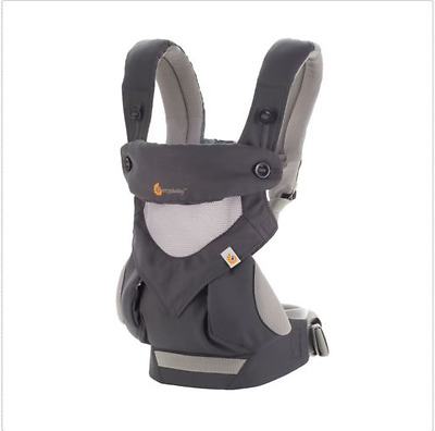 Ergo 360 Baby Four Position  carrier Dusty gray New  .