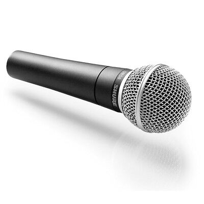 Shure SM58 Dynamic Vocal Handheld Microphone and Clip