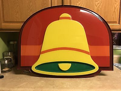 Vintage 1980s Taco Bell Sign Face