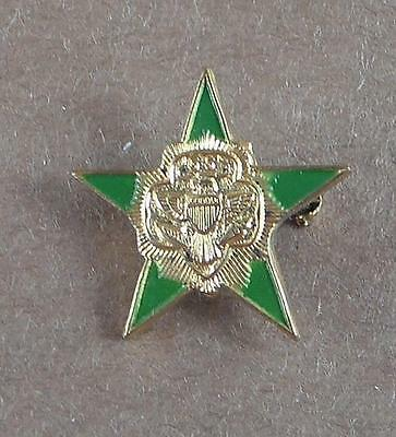 Vintage Girl Scout 5 Point Star Pin