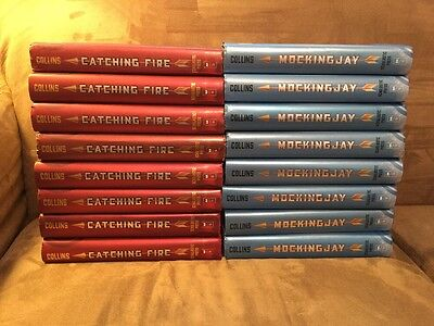 Hunger Games Lot: 16 Catching Fire / Mockingjay Teacher Guided Reading Set!