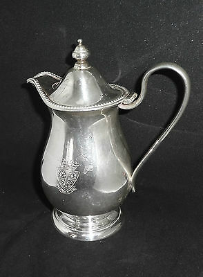 Antique Sterling Silver Covered Cream Pitcher, 5.6 Troy Oz.