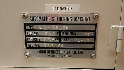 Sensbey Wave Solder Machine