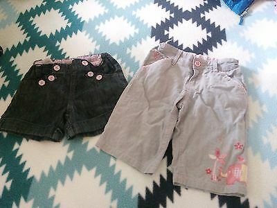 girls pumpkin patch shorts size 4 and 5