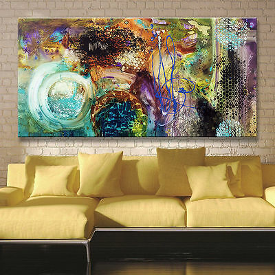 LARGE Hand-painted High Quality knife Modern Abstract Oil Painting art On Canvas