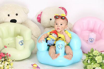 Baby Inflatable Chair Sofa Pushchair Indoor Outdoor Beach Bath Play Game Seat