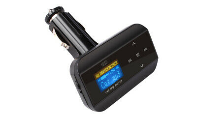 Car Mp3 Fm Transmitter Music Player Lcd Display Usb Sd Playback Aux In Fm30B