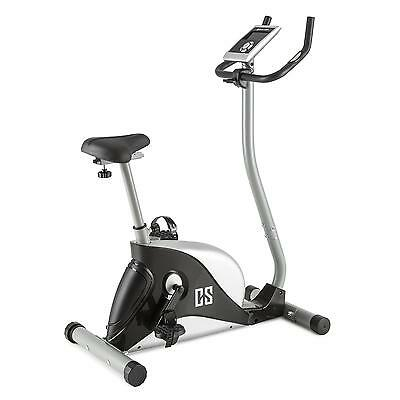 Home Gym Fitness Machine Silver Pedal Cardio Bike Bicycle Magnetic 8 Level Pulse