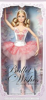 Barbie ballet Wishes Collectable Doll 2016