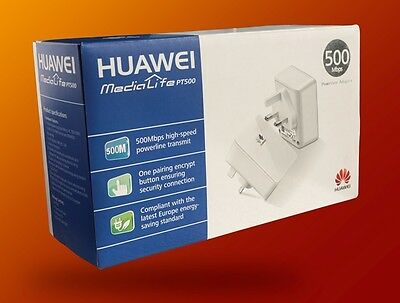 500 Mbps Super Fast Powerline Adapter Twin Pack