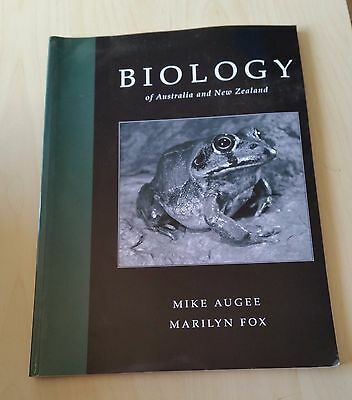 Biology of Australia and New Zealand by Mike Augee, Marilyn Fox (Paperback,...