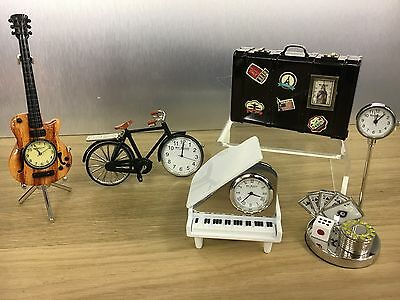 A collection of Miniature clocks, Very collectable