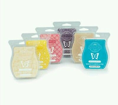 6 X Scentsy Wax Melts Bars New Release Your Choice of scents