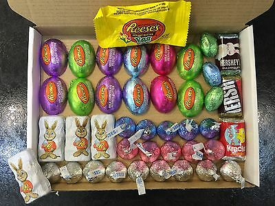 American Chocolate Gift Box - USA IMPORT - Reese's, Hershey's, Butterfinger