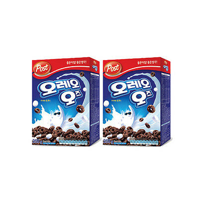 (2 Boxes)New Post Oreo O's Cereal with Marshmallow 8.8oz (250g) Breakfast Foods