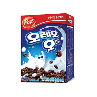 New Post Oreo O's Cereal with Marshmallow 8.8oz (250g) Breakfast Foods Korea