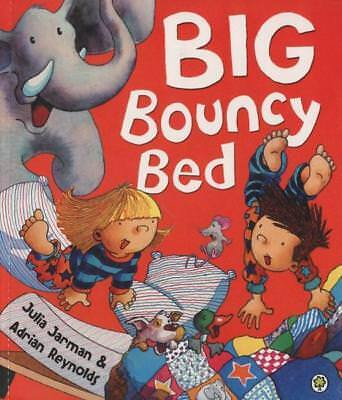 NEW Big Bouncy Bed By Julia Jarman  Paperback Free Shipping