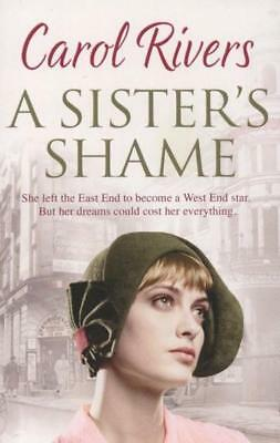 NEW A Sister's Shame By Carol Rivers Paperback Free Shipping