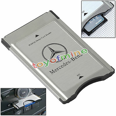 PCMCIA to SD Adapter for Mercedes-Benz Audio System Support SDHC 32GB - L40