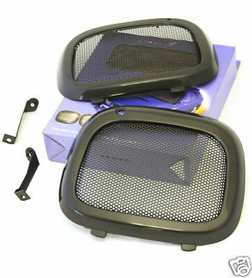 BUGEYE SUBARU IMPREZA STi FOG LIGHT COVERS (METAL MESH) Z0320