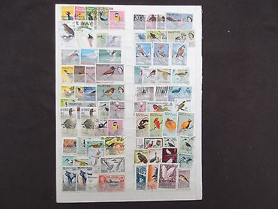 Thematics - A Selection Of Bird Stamps Mint And Used
