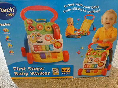 Vtech Baby: First steps baby walker –Great condition, boxed