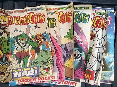 Thundercats Comics Uk Set Of 10