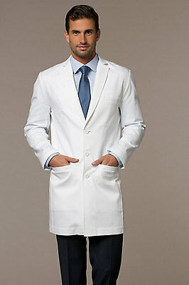 Unisex Lab Coat Made Up Of Cotton Blended Comfortable Fabric With 3 Pockets