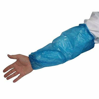 1000 Pieces Disposable Arm Sleeves Covers Oversleeves Cleaning Protective Blue