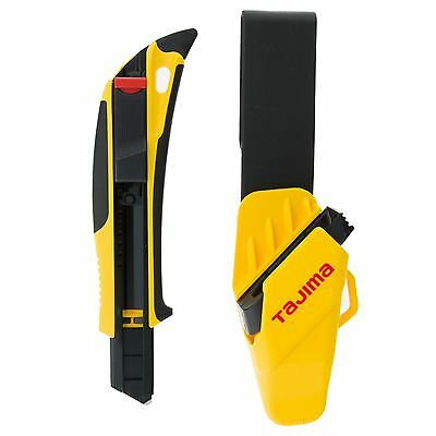 Tajima DFC569B Quick Back Snap Off Safety Knife with Holster 18mm No Blade