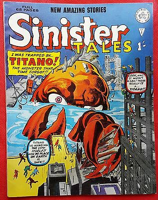 SINISTER TALES 1  ALAN CLASS 1964 Steve Ditko Art classic Kirby cover scarce vf