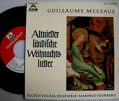 "Guillaume Messaus N.c.r.v Vocaal Ensemble Hilversum Marinus Voorberg 7 "" Single"