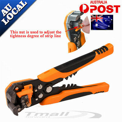 Automatic Wire Cutter Stripper Crimping Tool Pliers Electrical Cable Crimper NEW