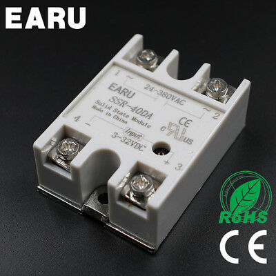 SSR-40DA 40A SSR Solid State Relay & Top/Cover(UK STOCK)